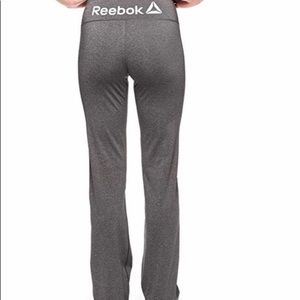 Reebok Straight Leg Training Yoga Running Pant